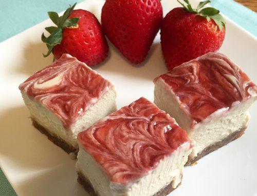 Strawberry Vegan Cheesecake
