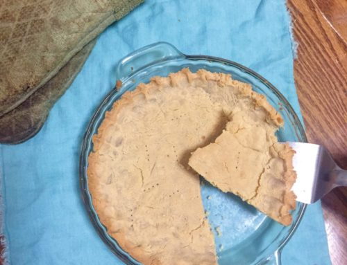 New and Improved Gluten Free Pie Crust